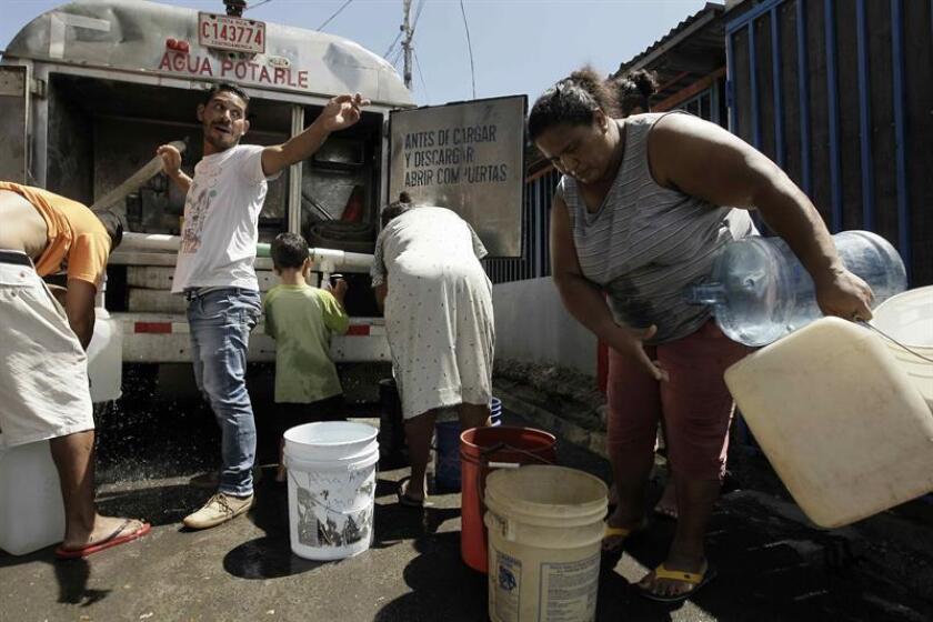 Sectores del área metropolitana de San Juan podrán registrar cortes en el servicio de agua durante los próximos días debido a una avería, según informó hoy a través de un comunicado la Autoridad de Acueductos y Alcantarillados (AAA). EFE/ARCHIVO