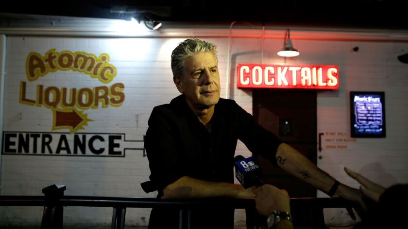 "Live CNN Talk Show ""Parts Unknown Last Bite"" Hosted By Anthony Bourdain"