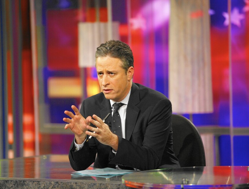 """Jon Stewart, whose """"Daily Show"""" has been funny, smart and informed, will leave as host before the end of the year, Comedy Central says."""
