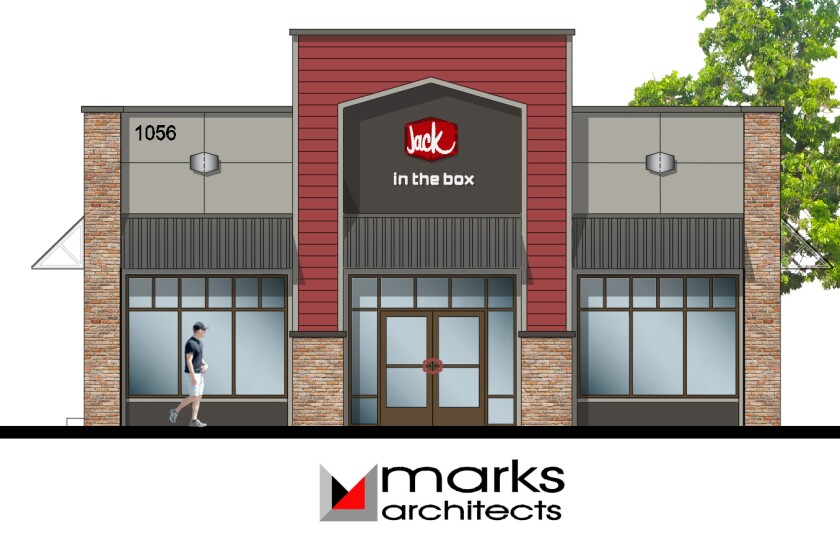 Plans to remodel Ramona's Jack in the Box include a 376-square-foot addition.