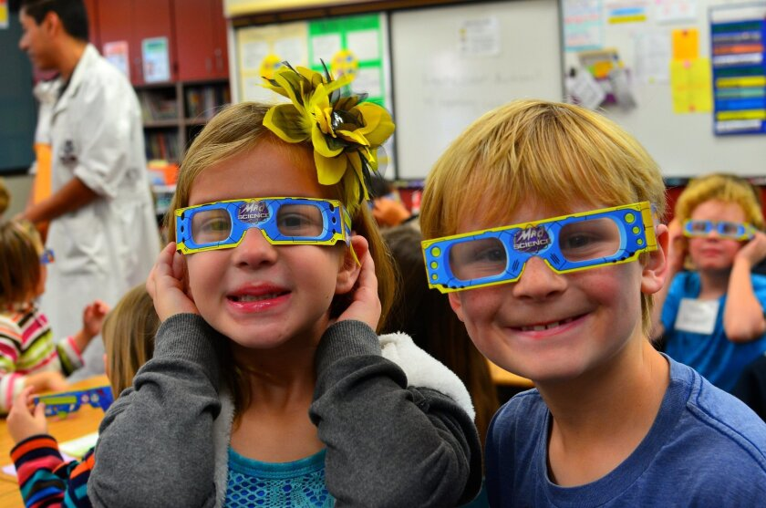Every student at Solana Vista participated in Science Discovery Day this year.
