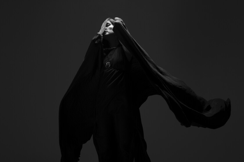 Zola Jesus performs in a new concert series at Descanso Gardens.