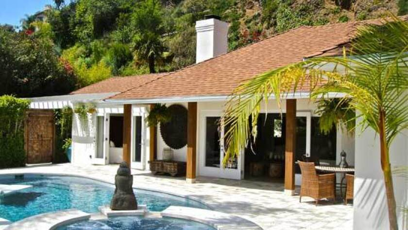 Celebrity photographer and home designer Mark Liddell has listed his latest project for sale in the Hollywood Hills West area.