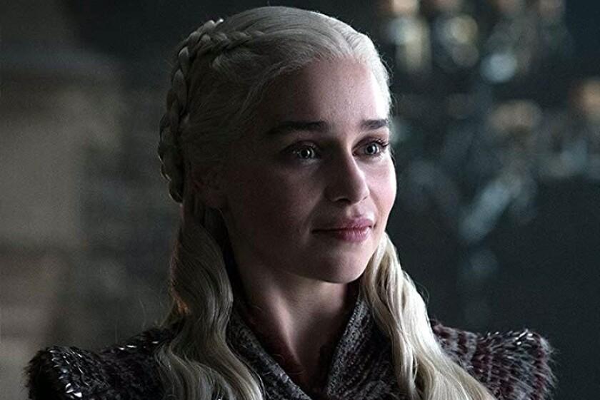Emilia Clarke es Daenerys Targaryen.