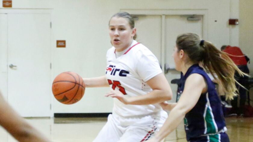 Jenny Dee is averaging 9.5 points, 3.4 rebounds, 1.8 assists and 1.7 steals a game for Southeastern University.