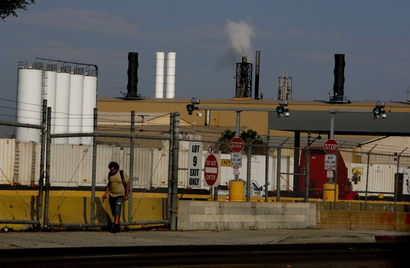 More than 250,000 people in southeast Los Angeles could be affected by Exide Technologies emissions, authorities say, though it is unclear if anyone has been harmed.