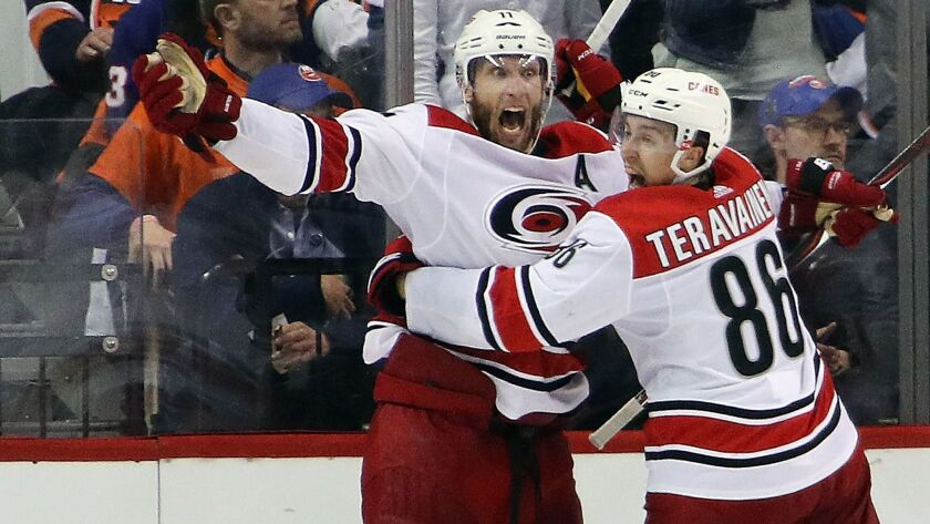 Carolina Hurricanes v New York Islanders - Game One