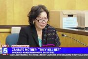 Zahau's mother testifies