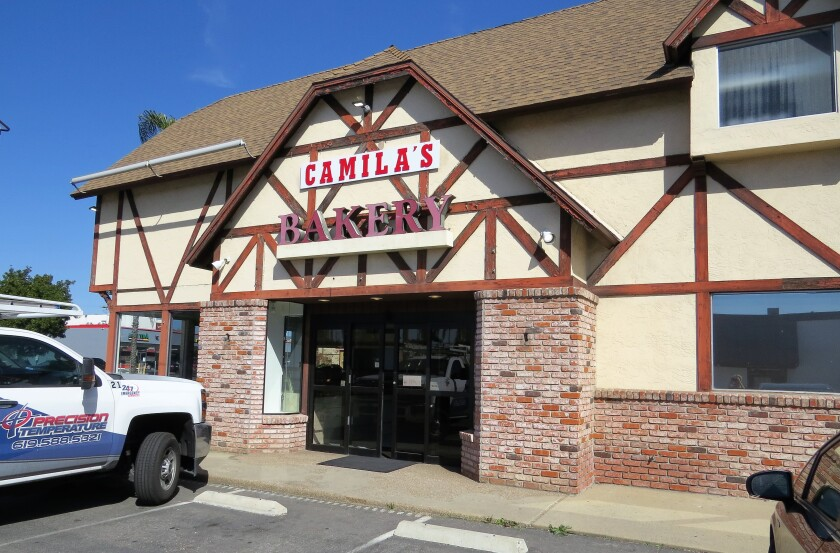 The longtime former home of Wedeking's Bakery in Escondido, which closed in November 2018, has reopened as the family-run Camila's Bakery, an international pastry shop and panaderia.