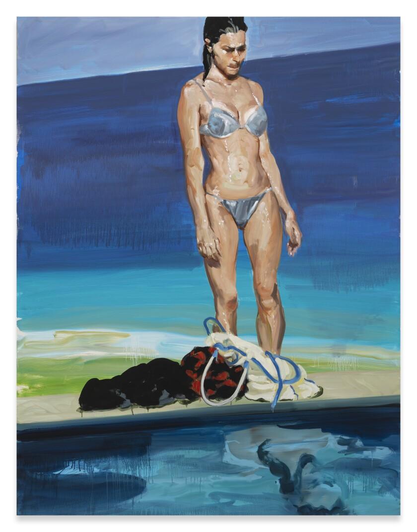 "Eric Fischl's ""Self Reflection"""