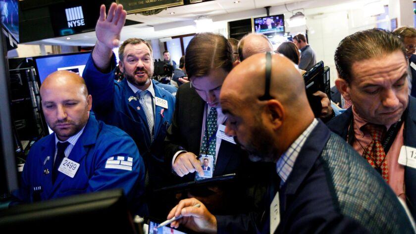 New York Stock Exchange, USA - 21 Sep 2018