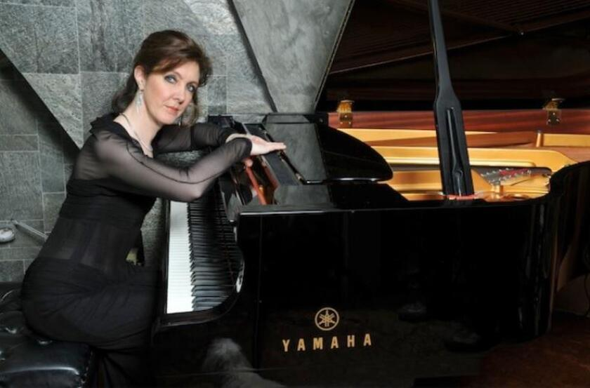 Pianist Anne-Marie McDermott is curator of the Spotlight Chamber Music Concerts and will be featured in the Two-Pianos, Eight Hands concerts in April.