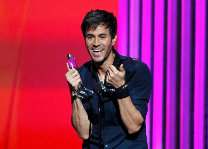 Singer Enrique Iglesias