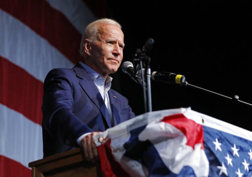 Former Vice President Joe Biden would be America's second Catholic president if he were elected in November.