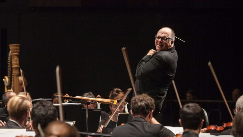 Steven Schick renewed his contract with the La Jolla Symphony & Chorus this year.