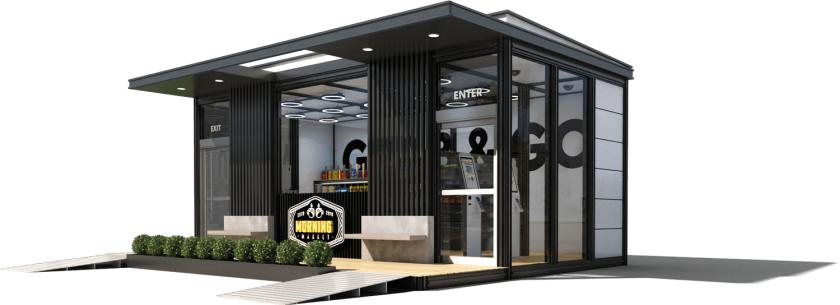 Accel Robotics of San Diego can build entire modular stores for its customers, including cameras, sensors and proprietary software. The company will partner with UCSD and place a cashier-less store on campus in March 2020.
