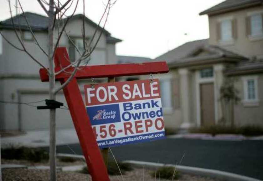 Sales of bank-owned homes fell, but short sales surged 25% to a three-year high in the first quarter, according to RealtyTrac.