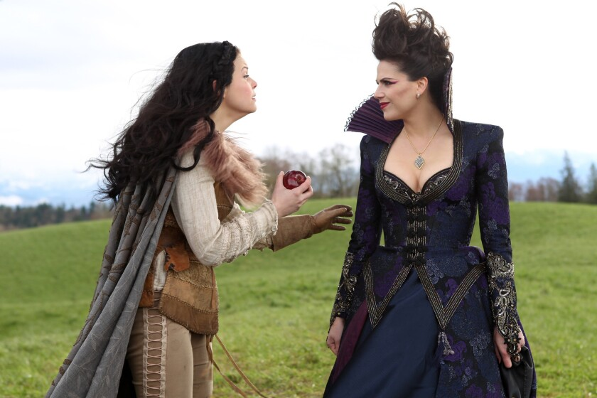 "A scene from the series ""Once Upon a Time,"" one of the shows advertised on iStreamItAll, which has been accused by the U.S. Department of Justice of having libraries of content without the permission of studios."