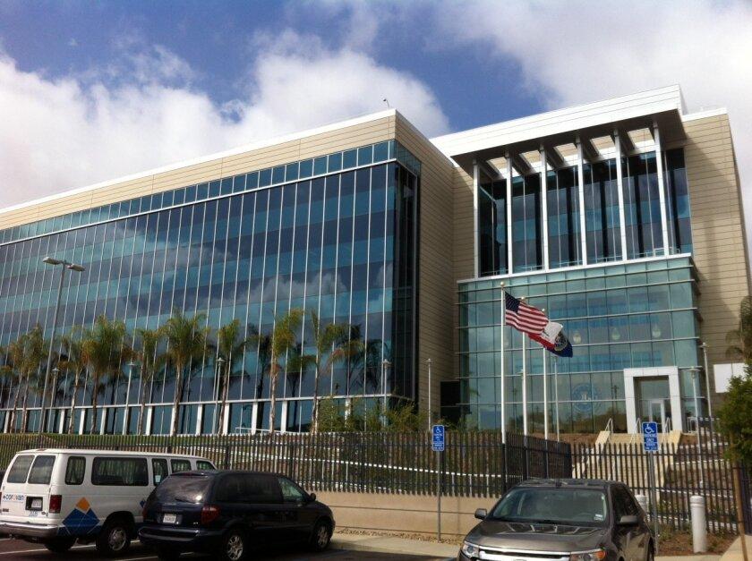 The San Diego FBI headquarters in Sorrento Valley.