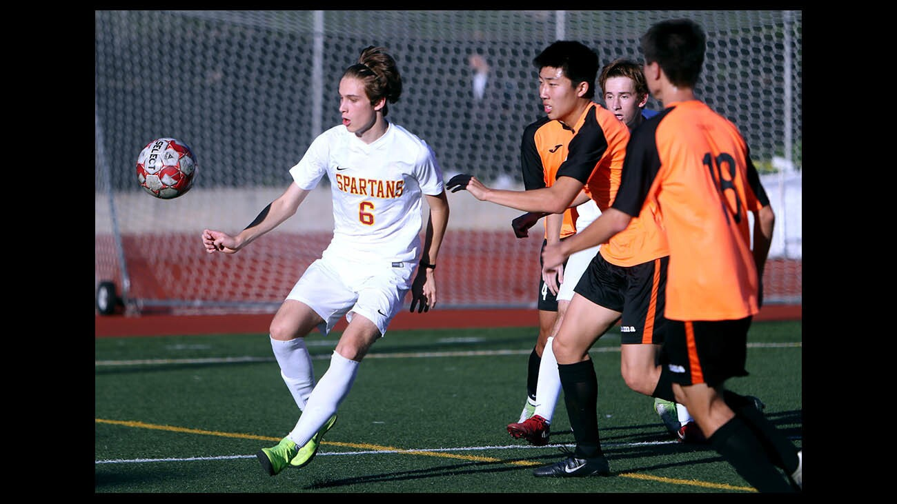 Photo Gallery: La Canada High boys soccer gets mauled by the South Pasadena tigers