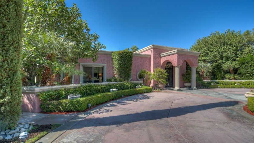 The Rancho Mirage estate built for film actress Marion Davies.