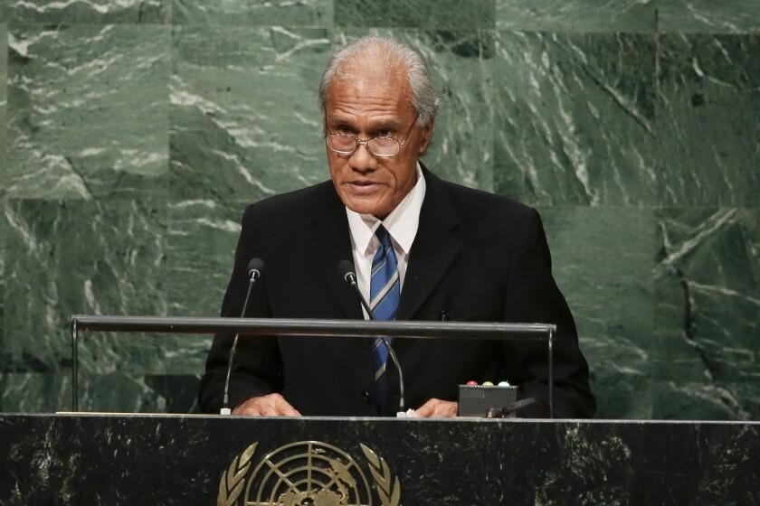 Tonga PM Funeral