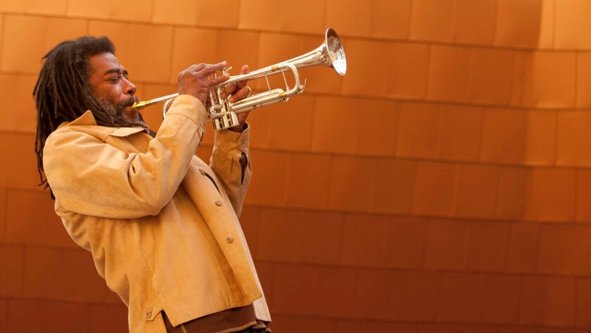 Composer Wadada Leo Smith creates wild musical scores that are now on view at the Hammer.