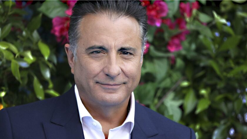 IMDb file: Andy Garcia goes from the darkness to the light — and gets to  sing with Cher on 'Mamma Mia! Here We Go Again' - Los Angeles Times