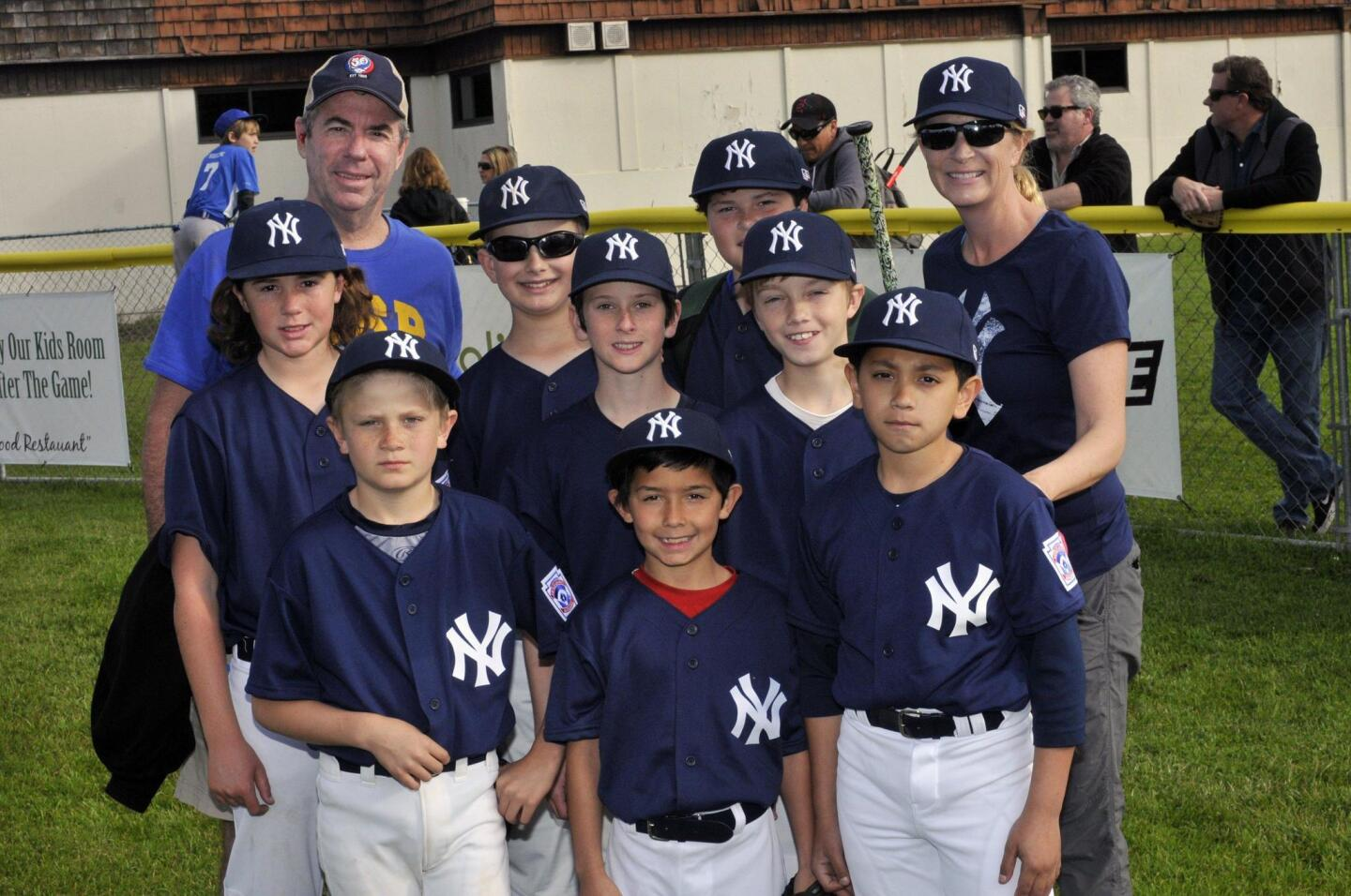Solana Beach Little League Opening Day