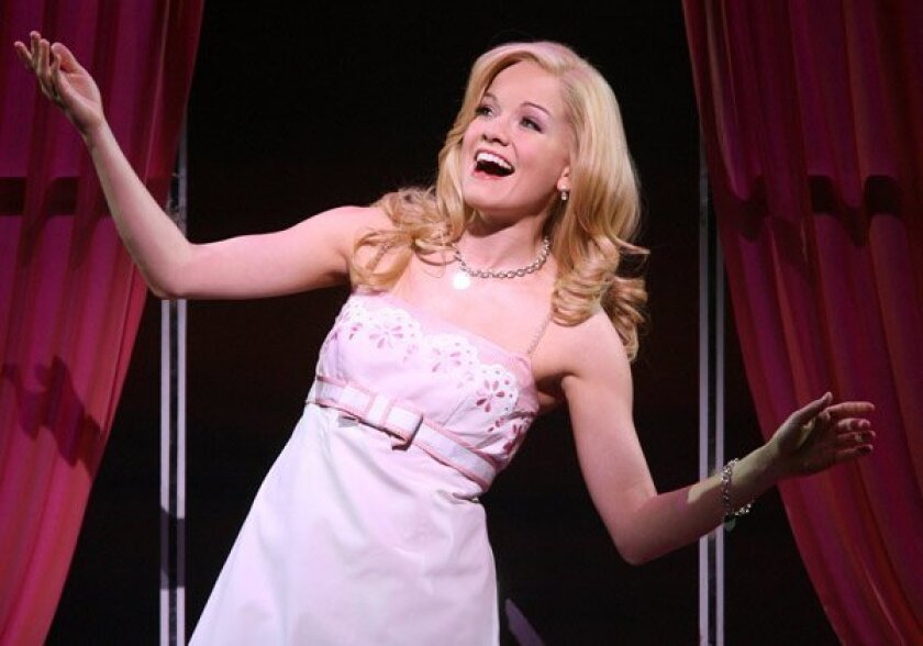 """Becky Gulsvig is a great fan of her character in """"Legally Blonde,"""" Elle Woods: """"She's a great role model, a great inspiration."""""""