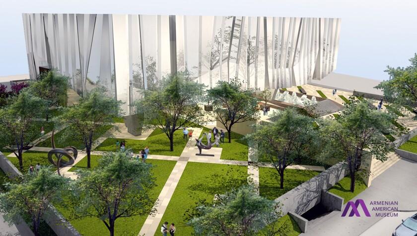 Conceptual rendering of Armenian American Museum