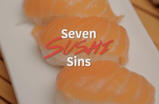 The seven sushi sins