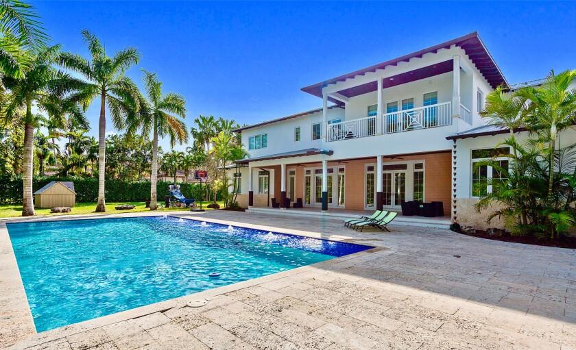 Rusney Castillo's Florida mansion