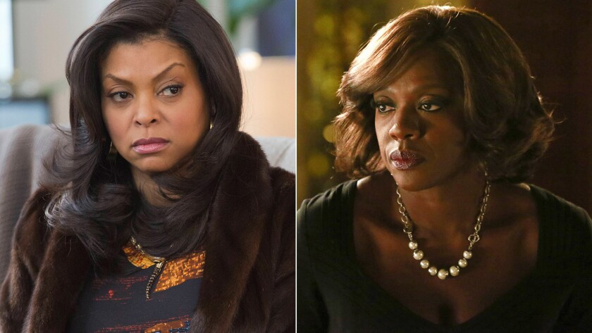 Taraji P. Henson and Viola Davis were each nominated in the drama lead actress category.