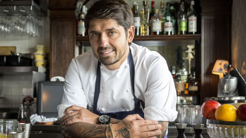 Ludo Lefebvre, of L.A.'s Trois Mec, Petit Trois and Trois Familia, will be among the A-list celebrity chefs cooking at the KAABOO festival in September.