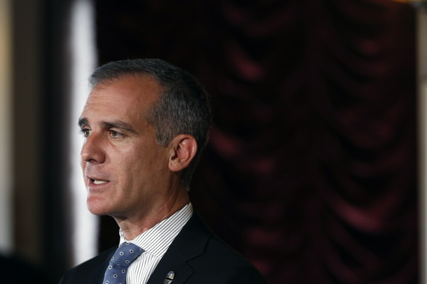 Los Angeles Mayor Eric Garcetti has agreed to a rollback of the city's plan for furloughing workers