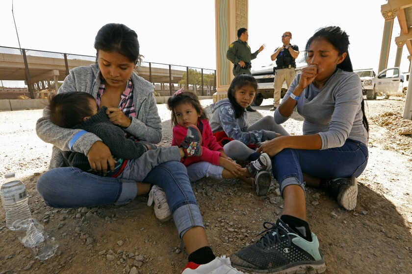LUCERO GERARALD with her children