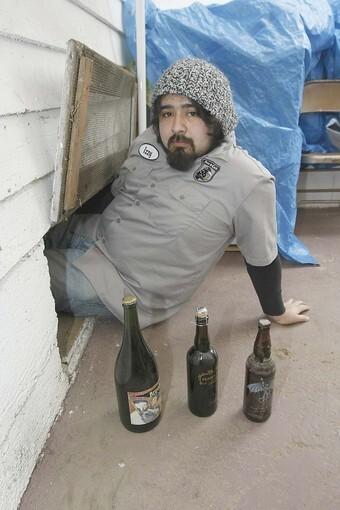 Beer below