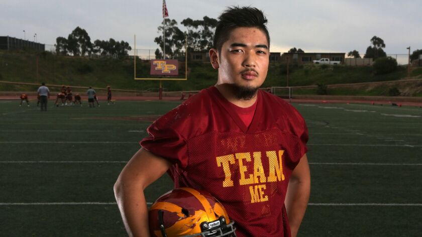 Torrey Pines senior Yujay Kurosu said he's completed college calculus.