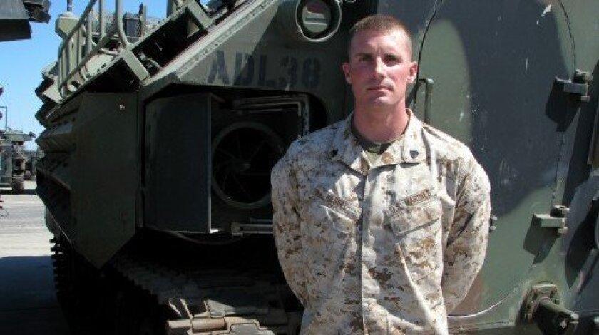 Sgt. Travis D. Nessel (Photo/Jeanne McKinney)