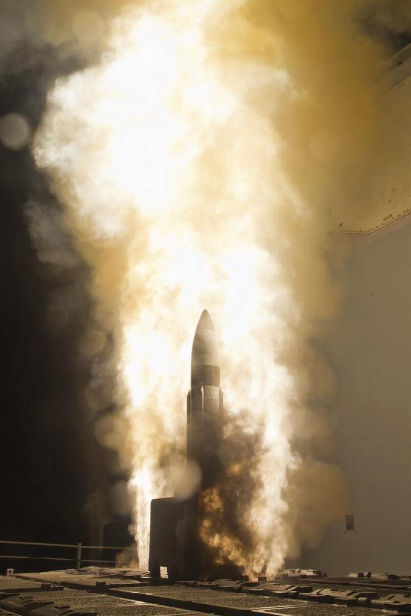 El Departamento de Estado aprobó hoy un acuerdo con Arabia Saudí para el suministro de servicios de apoyo para su sistema de misiles por valor de 500 millones de dólares. EFE/ARCHIVO/SOLO USO EDITORIAL
