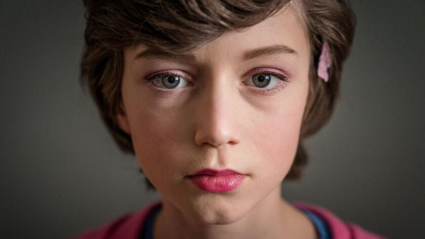 """Callum Booth-Ford as Maxine Duffy in """"Butterfly."""""""