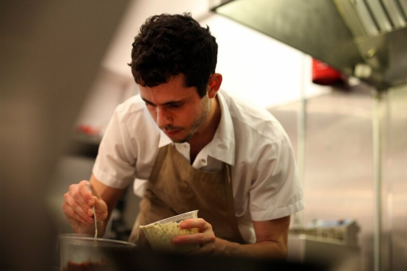 Ari Taymor is chef and co-owner of Alma restaurant in downtown Los Angeles.