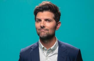 Actor Adam Scott of 'Twilight Zone' explains how he keeps his cool