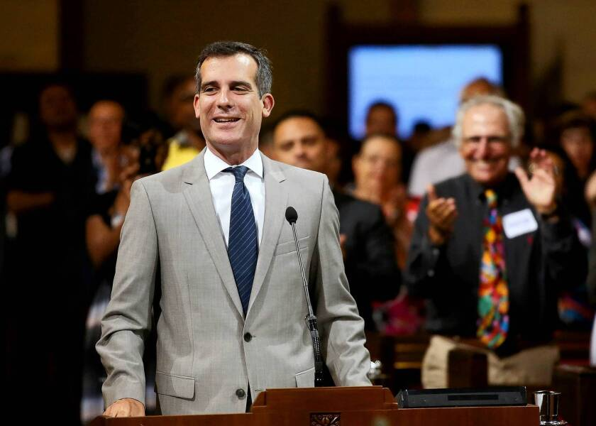 Shortly after being elected, Los Angeles Mayor Eric Garcetti required more than 30 city department heads to reapply for their jobs.