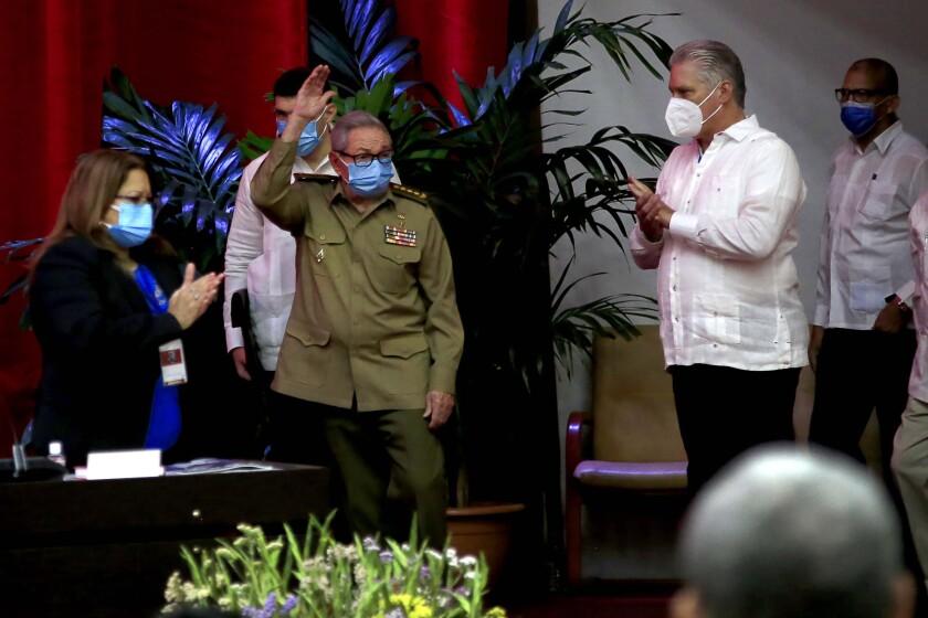 Raúl Castro, primer secretario del Partido Comunista y expresidente de Cuba