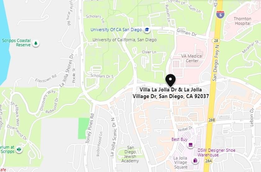 UCSD is planning a 110,000-square-foot, seven-story La Jolla Innovation Center at Villa La Jolla and La Jolla Village drives.