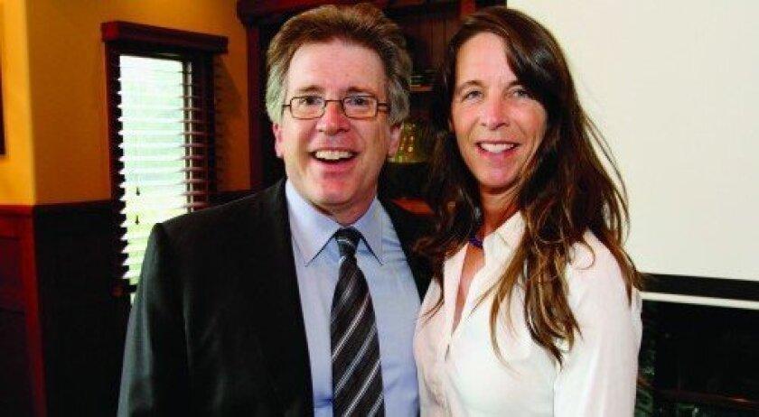 Dr. Robert Hertzka, Deana Ingalls (Photos: Jon Clark)