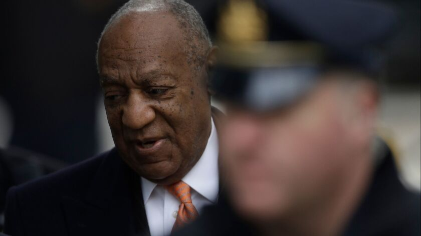 Bill Cosby arrives at the Montgomery County Courthouse on Tuesday.