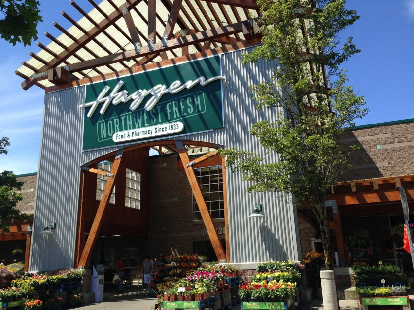 """Haggen's supermarkets are positioned """"somewhere between a Vons and what you would see in a Whole Foods,"""" said CEO Bill Shaner."""